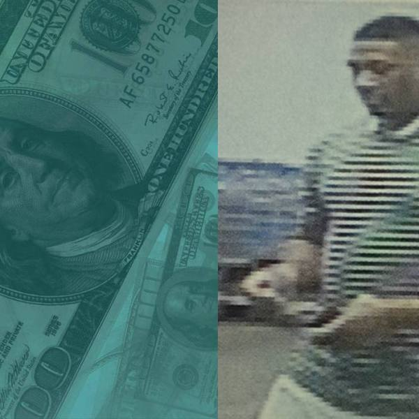 Suspect wanted for making purchases with counterfeit cash._2940