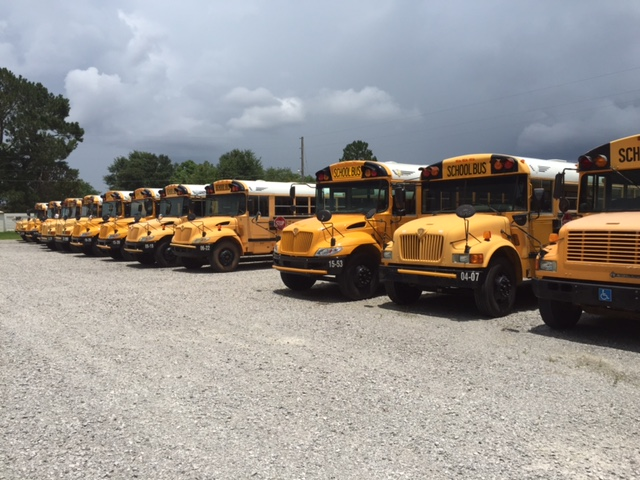 School Buses Are Parked For the Summer_9631