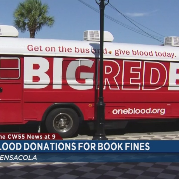 Blood Donations For Book Fines