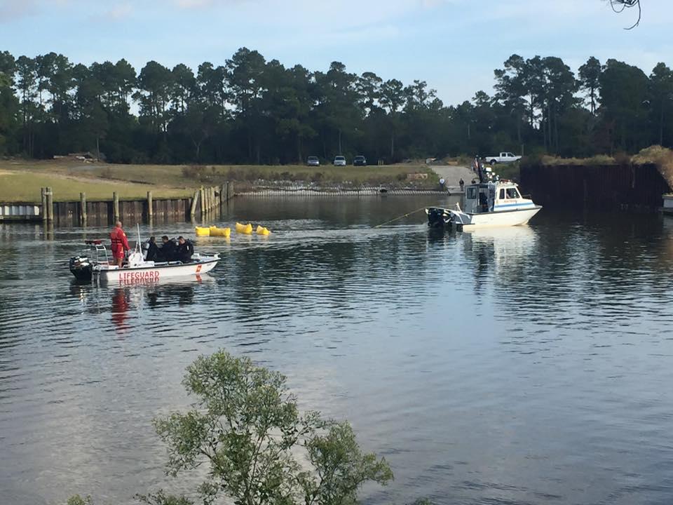 Car Crashes into Intracoastal Waterway