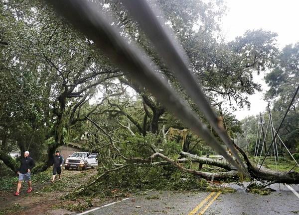APTOPIX Hurricane Matthew Georgia_256306