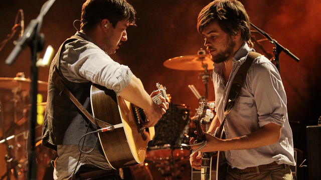 Mumford and Sons performs at Red Rocks on August 28, 2012. Photo_ Michael Martin_277059