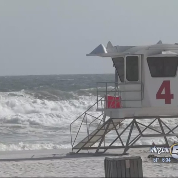 Lifeguards Return to Pensacola Beach