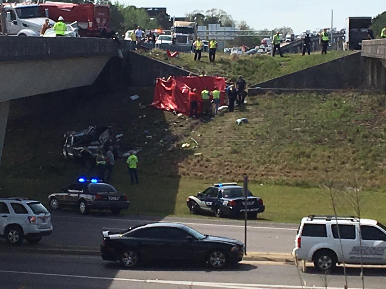 Major Crash on I-10 in Jackson County