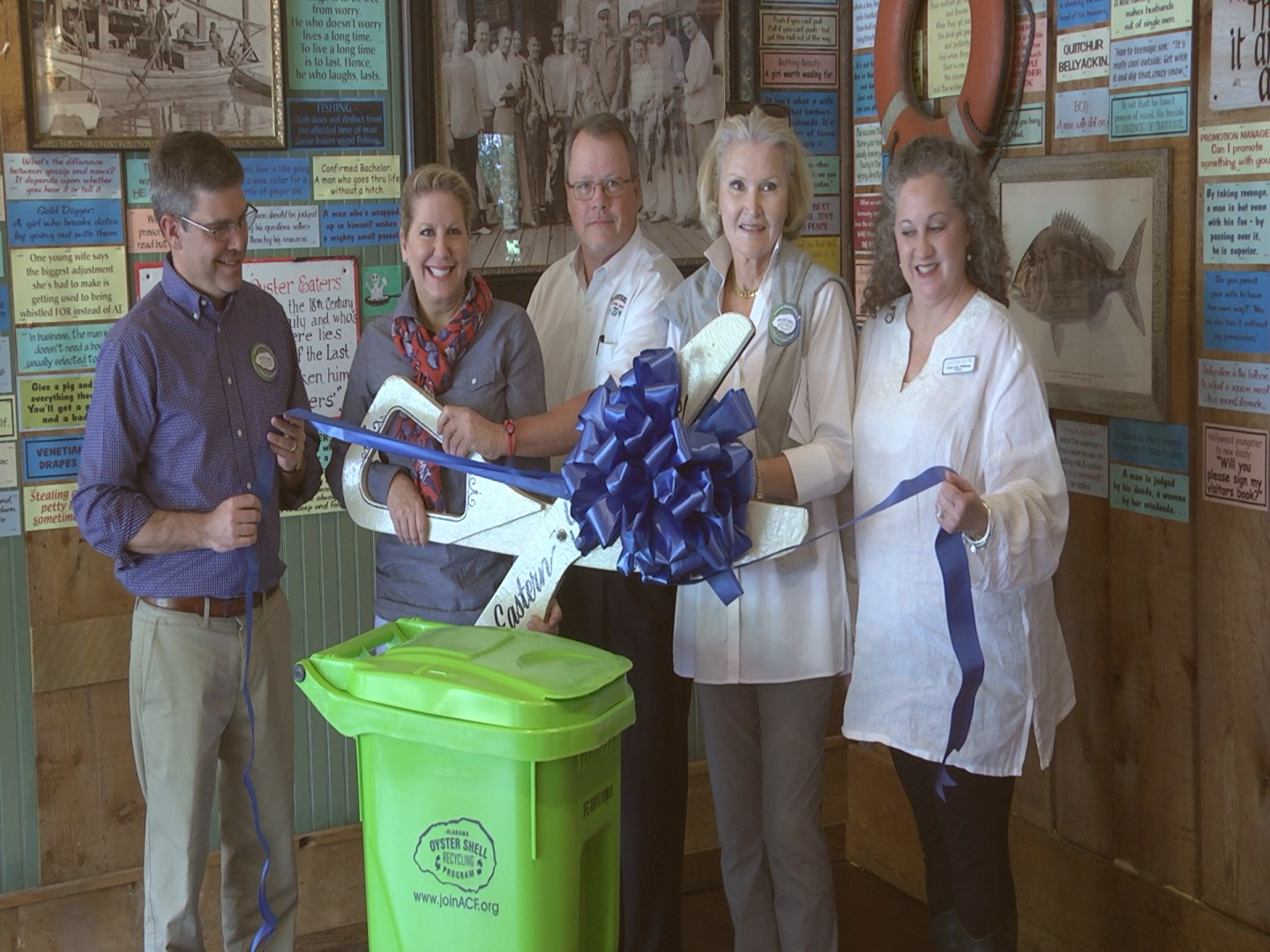 Oyster Shell Recycling Program in Fairhope_320571