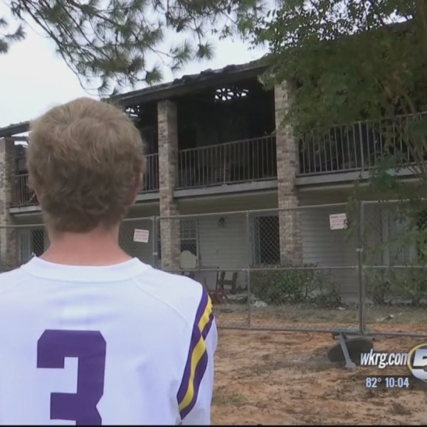 Displaced Residents React to Fire Ruled Arson