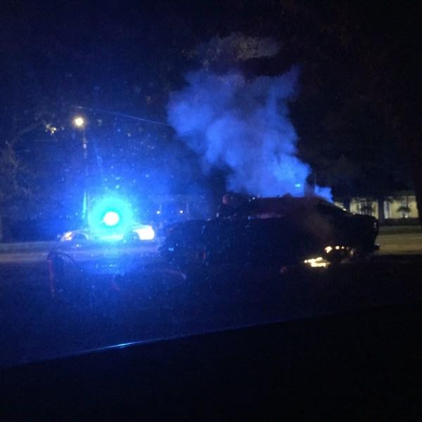 Airport Boulevard Car Fire_393103