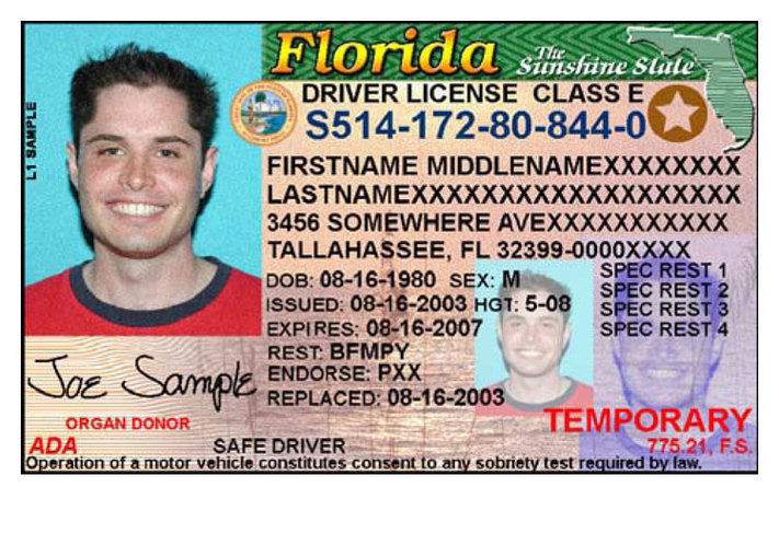 Florida Driver S Licenses Get New Look Better Security