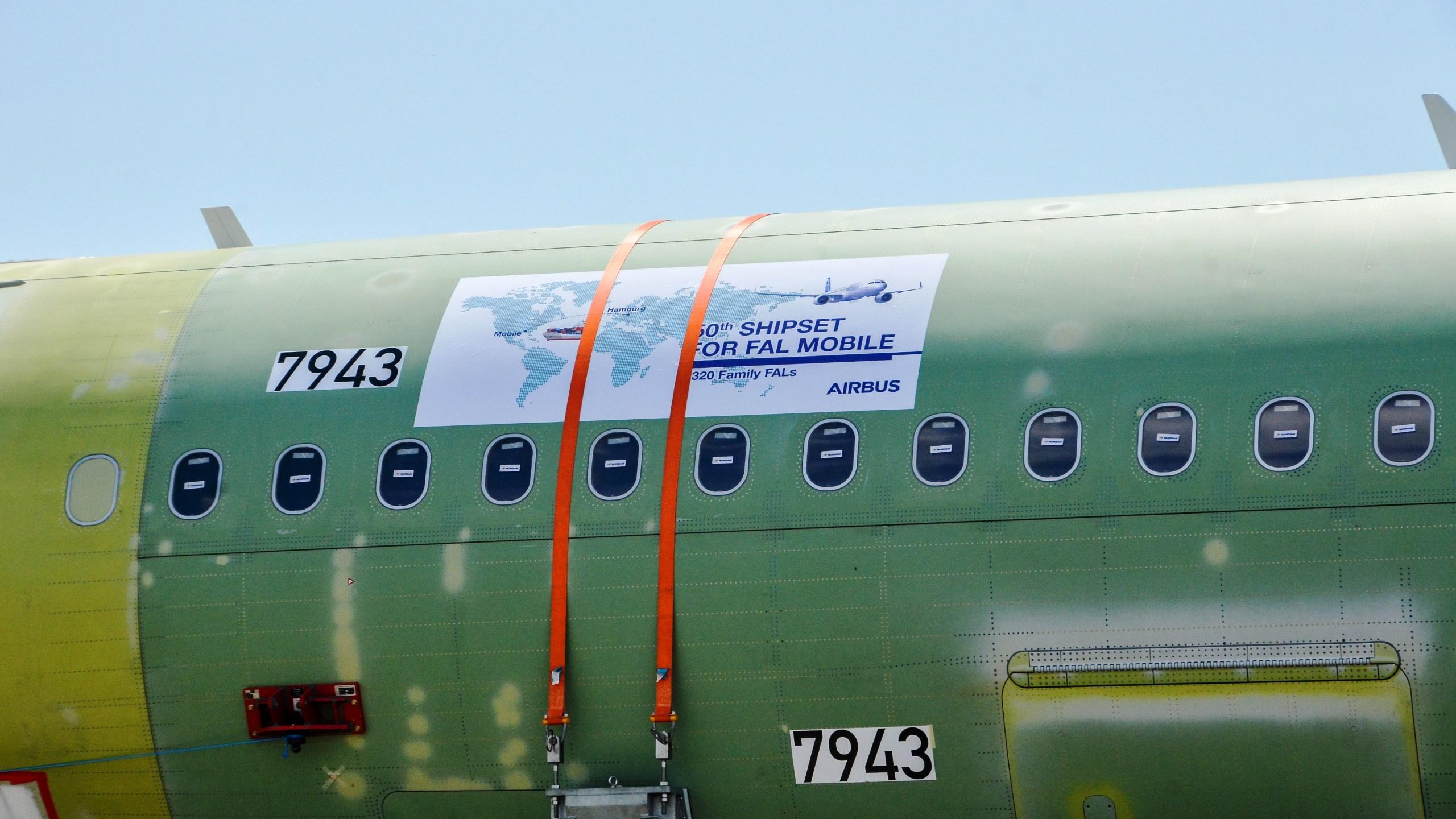 Airbus 50th MCA Arrival at Mobile Alabama FAL_411605