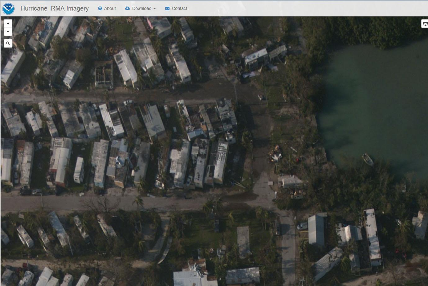 NOAA aerial aftermath Irma 3_409939