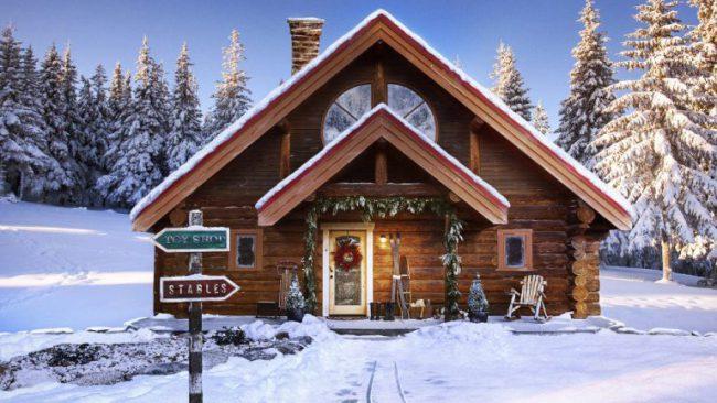 santa clause house_455169