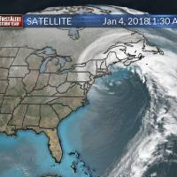 Winter Storm Forms on Satellite: Is it a Cyclone or a Bomb?