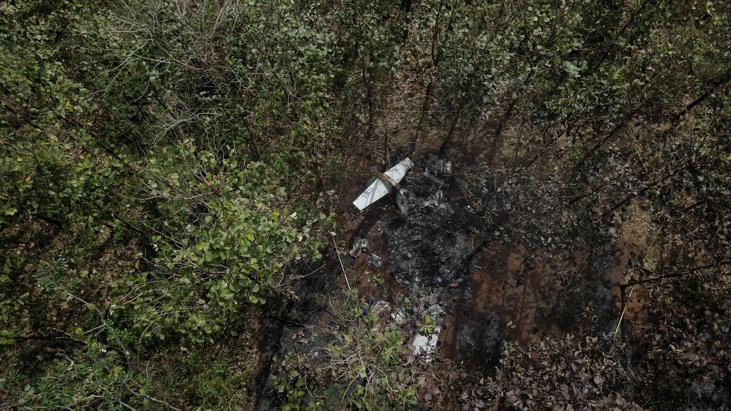 APTOPIX Costa Rica Plane Crash_471233