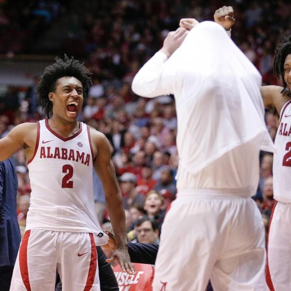 Tennessee Alabama Basketball