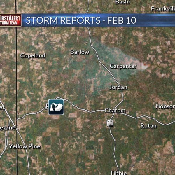 Storm Report Location