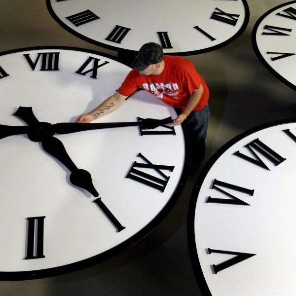 APTOPIX Time Fall Back_1521844081367