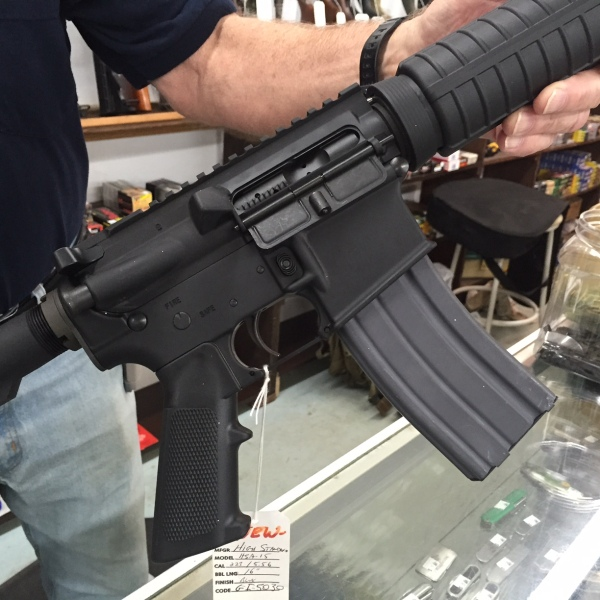 Semi-automatic rifle_116627