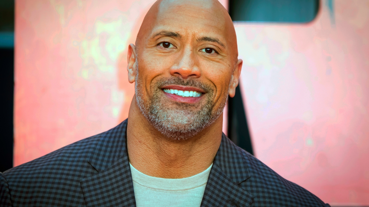 Dwayne Johnson steps in for pal Kevin Hart as first guest on