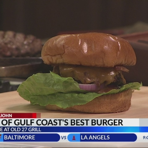 Cooking with John: Whiskey Ridge's Burger Contest Winner from Old 27 Grill