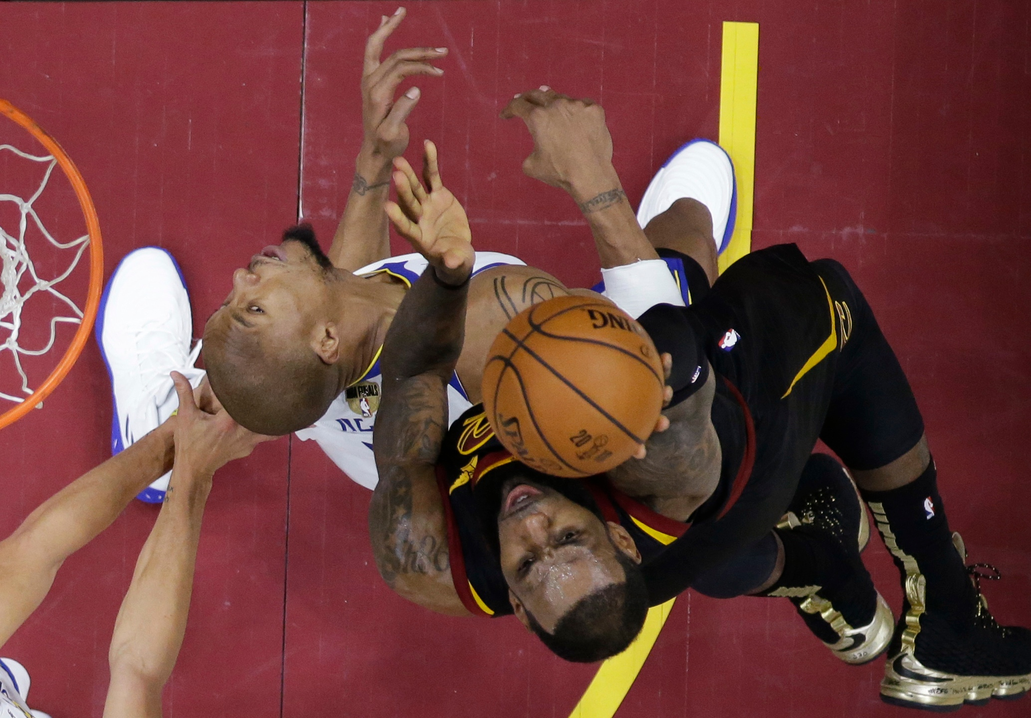 NBA Finals Warriors Cavaliers Basketball_1528515419851