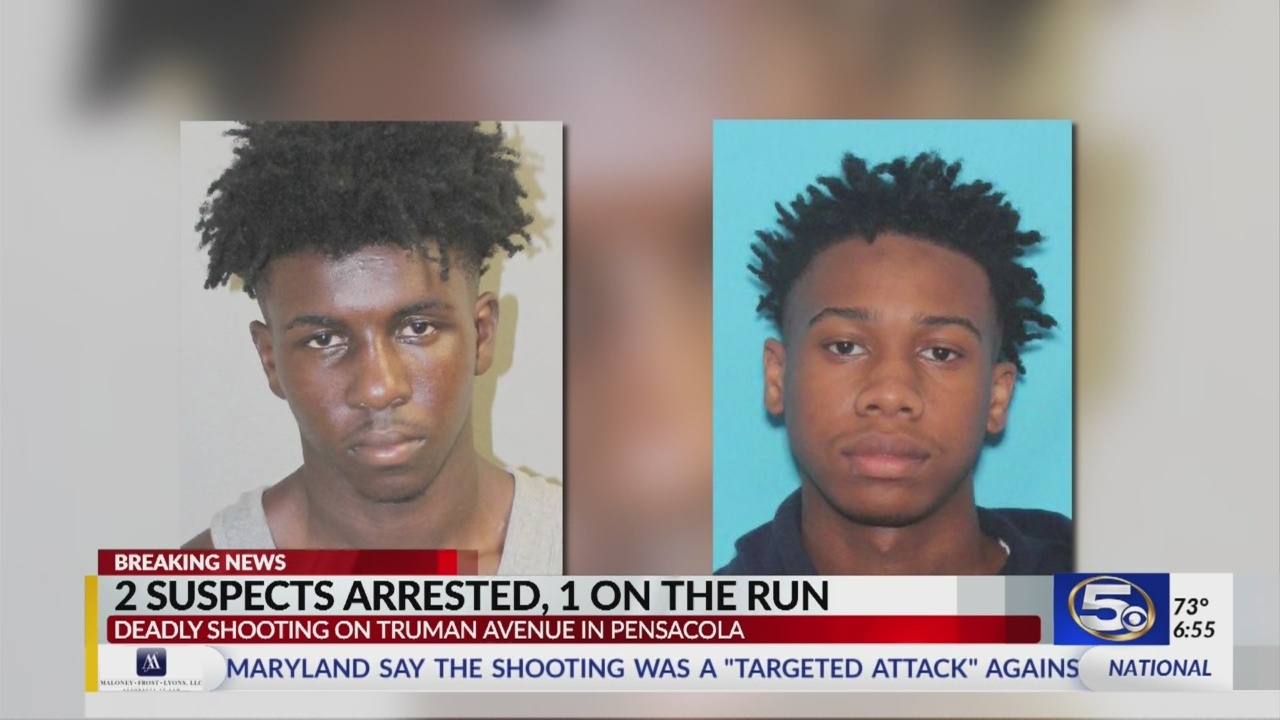Two teens arrested for Truman Avenue homicide.