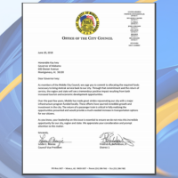 Council Letter to Gov. Ivey