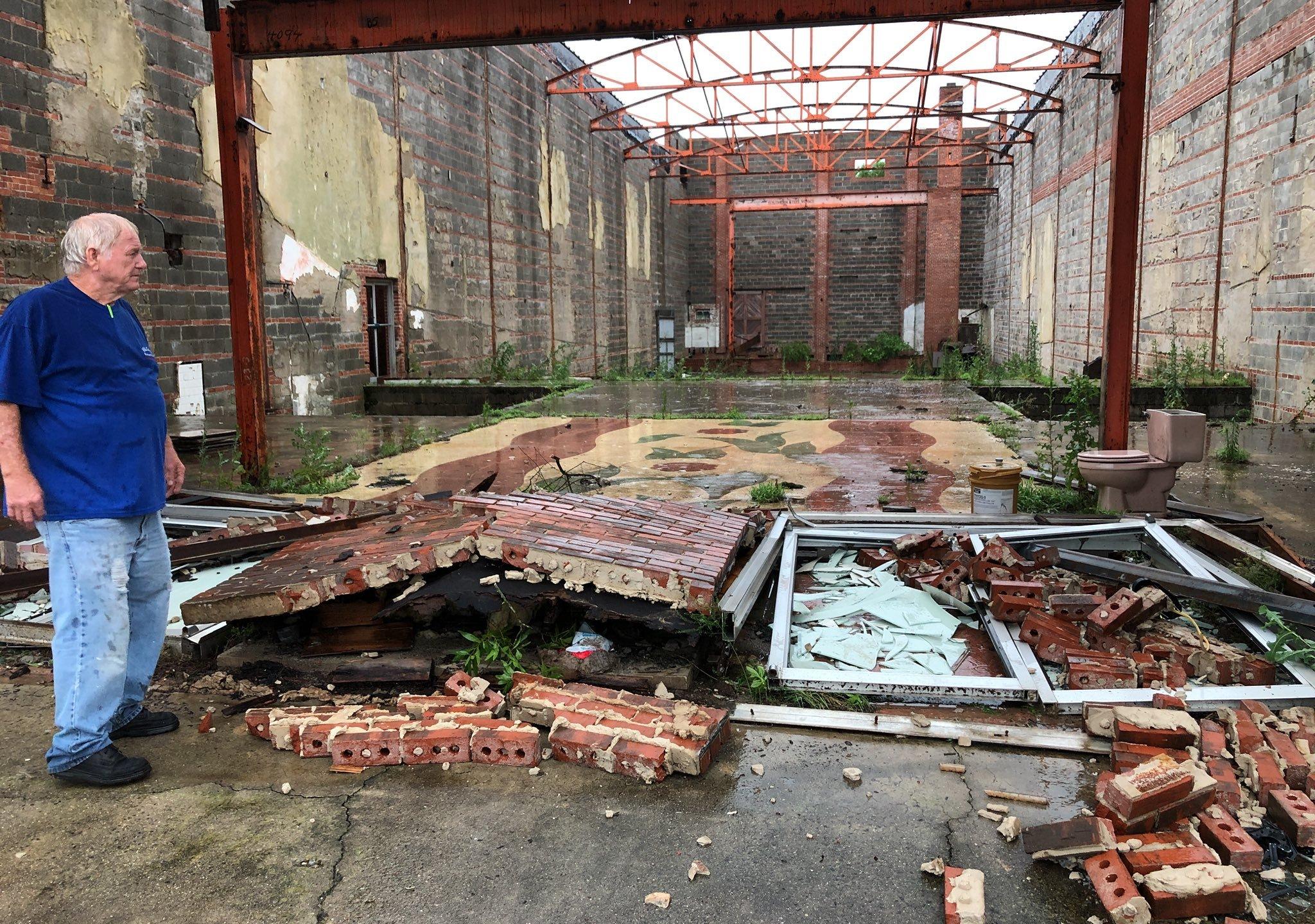 Attalla Opera House Storm Damagejpg