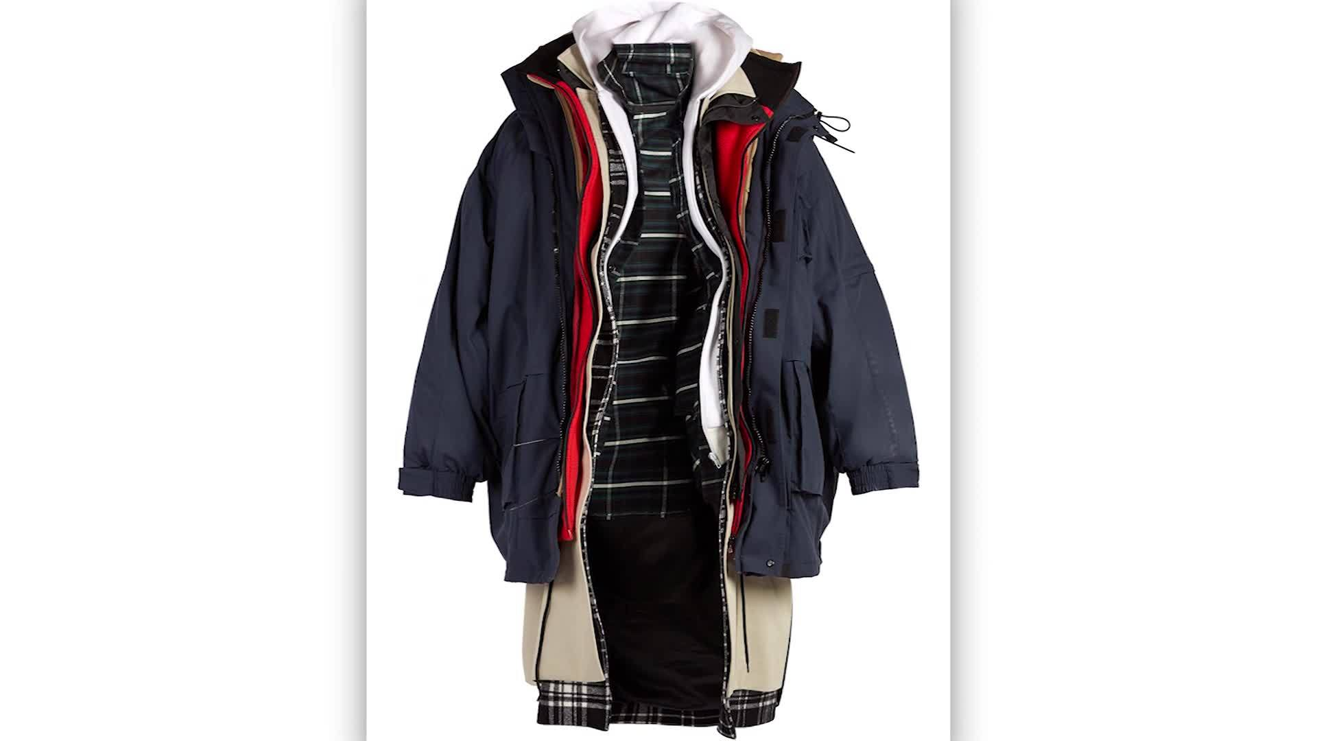 7a006c654 Balenciaga selling 7-layer jacket for $9,000