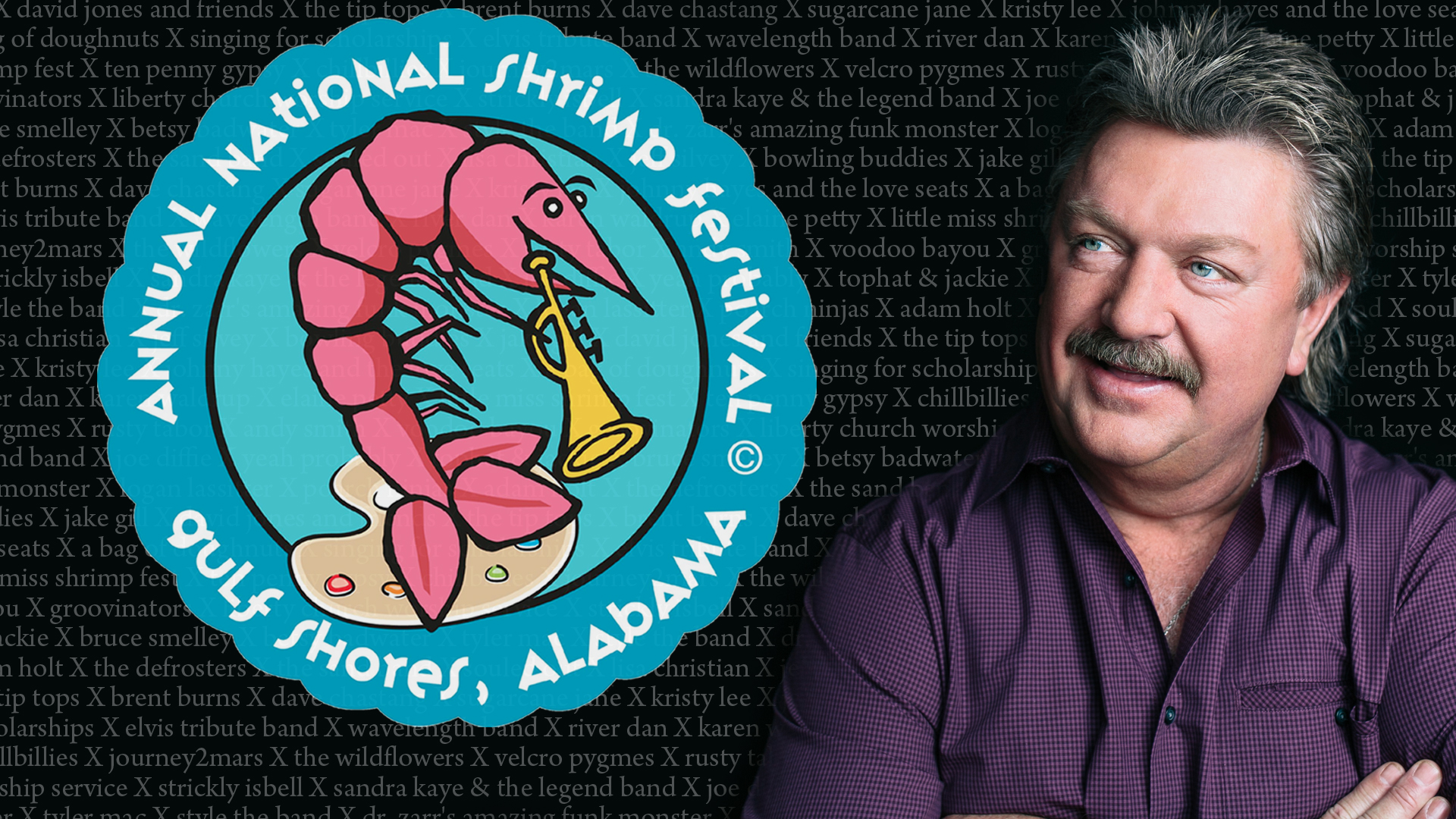 Joe Diffie Performing at 47th National Shrimp Festival