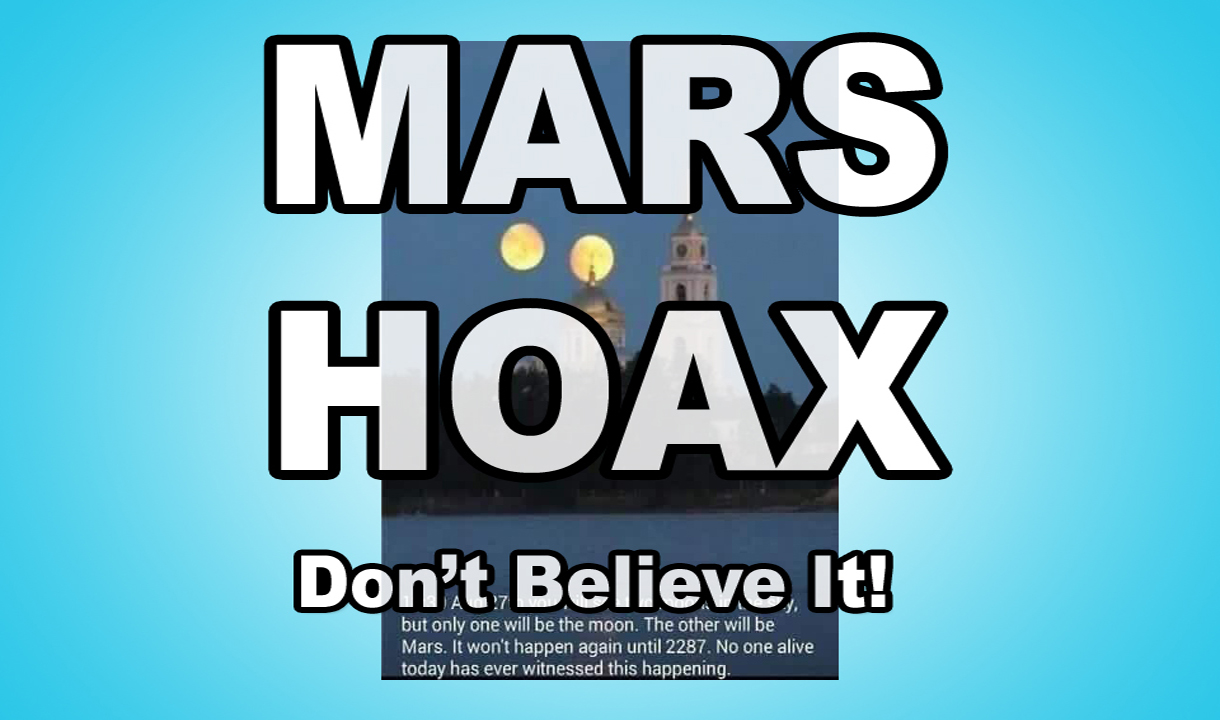 Mars Hoax 2018