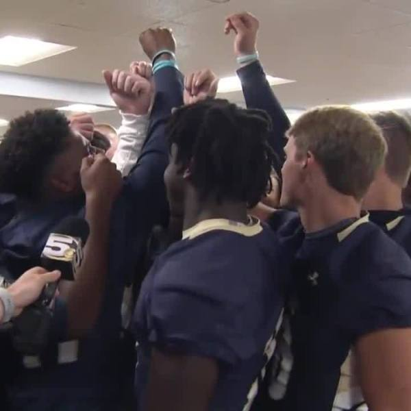 Pep Rally of the Week: Mobile Christian pep rally ahead of T.R. Miller game