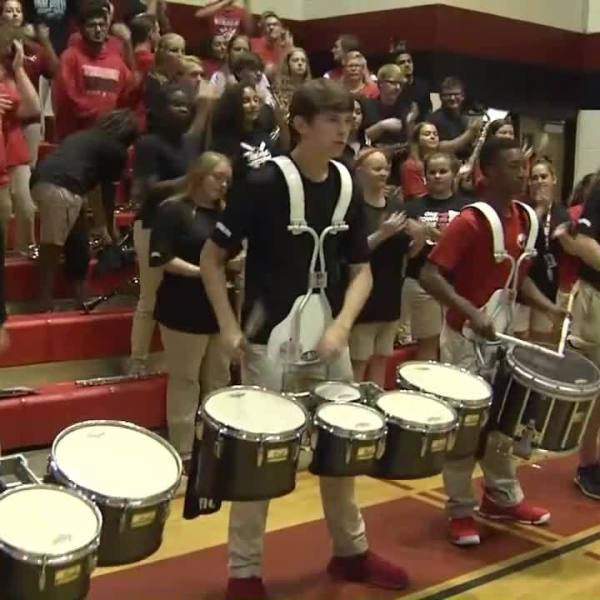 Pep Rally of the Week: Theodore High School pep rally ahead of Fairhope High School game