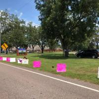 Signs for Aubreigh