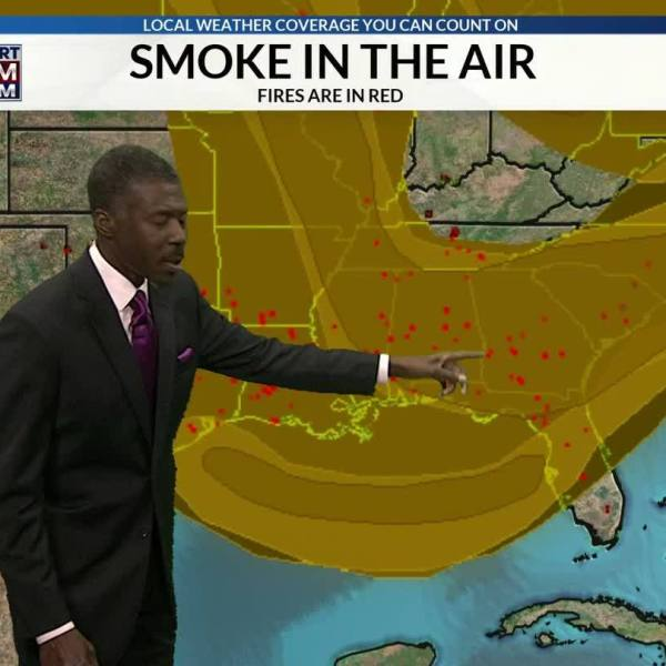 Smoke and Haze from Wildfires Travels Far