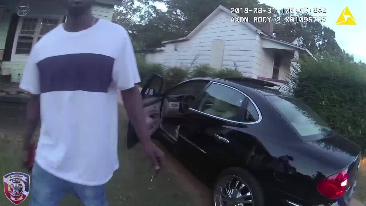 WATCH: Body cam footage of Anniston Police traffic stop 'street brawl'