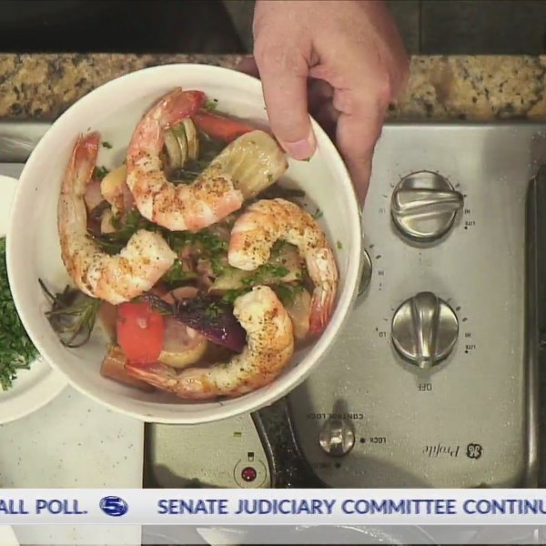 "Cooking with John: Alabama Gulf Shrimp with ""Ugly Vegetable"" Ragout"
