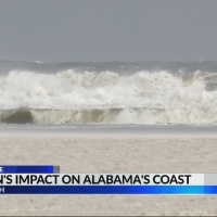 Gordon's impact on Alabama's coast