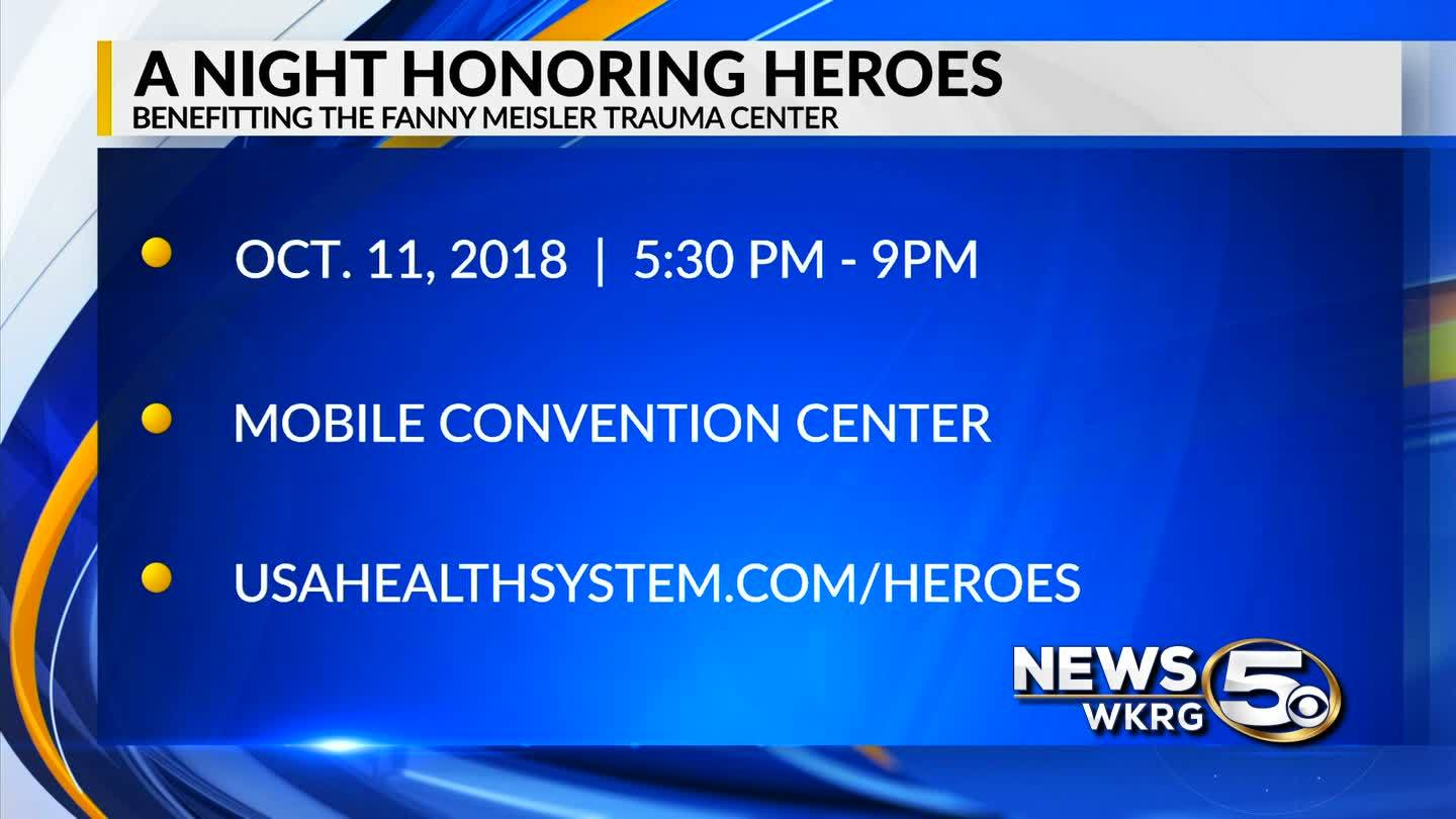 Mark Your Calendar - A Night Honoring Heroes