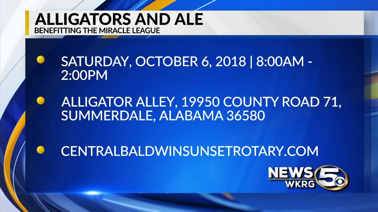 Mark Your Calendar - Alligators and Ale