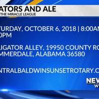 Mark Your Calendar - Alligators and Ale