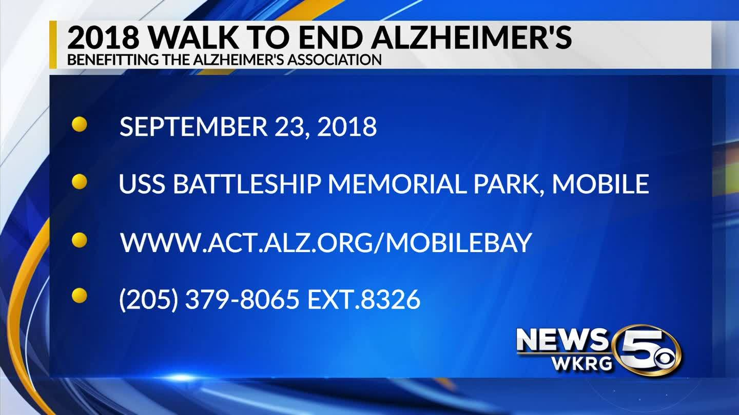 """Mark Your Calendar"" - Walk to End Alzheimer's"