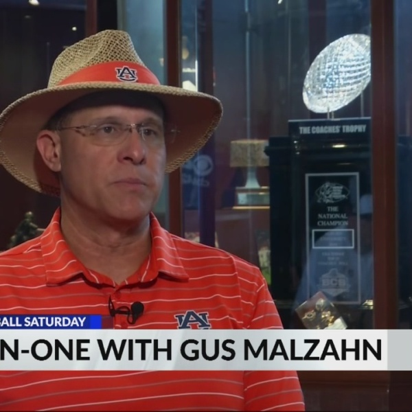 One-on-one interview with Auburn head coach Gus Malzahn
