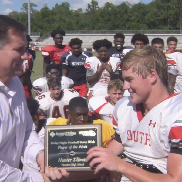 Theodore Receiver Wins Player of the Week