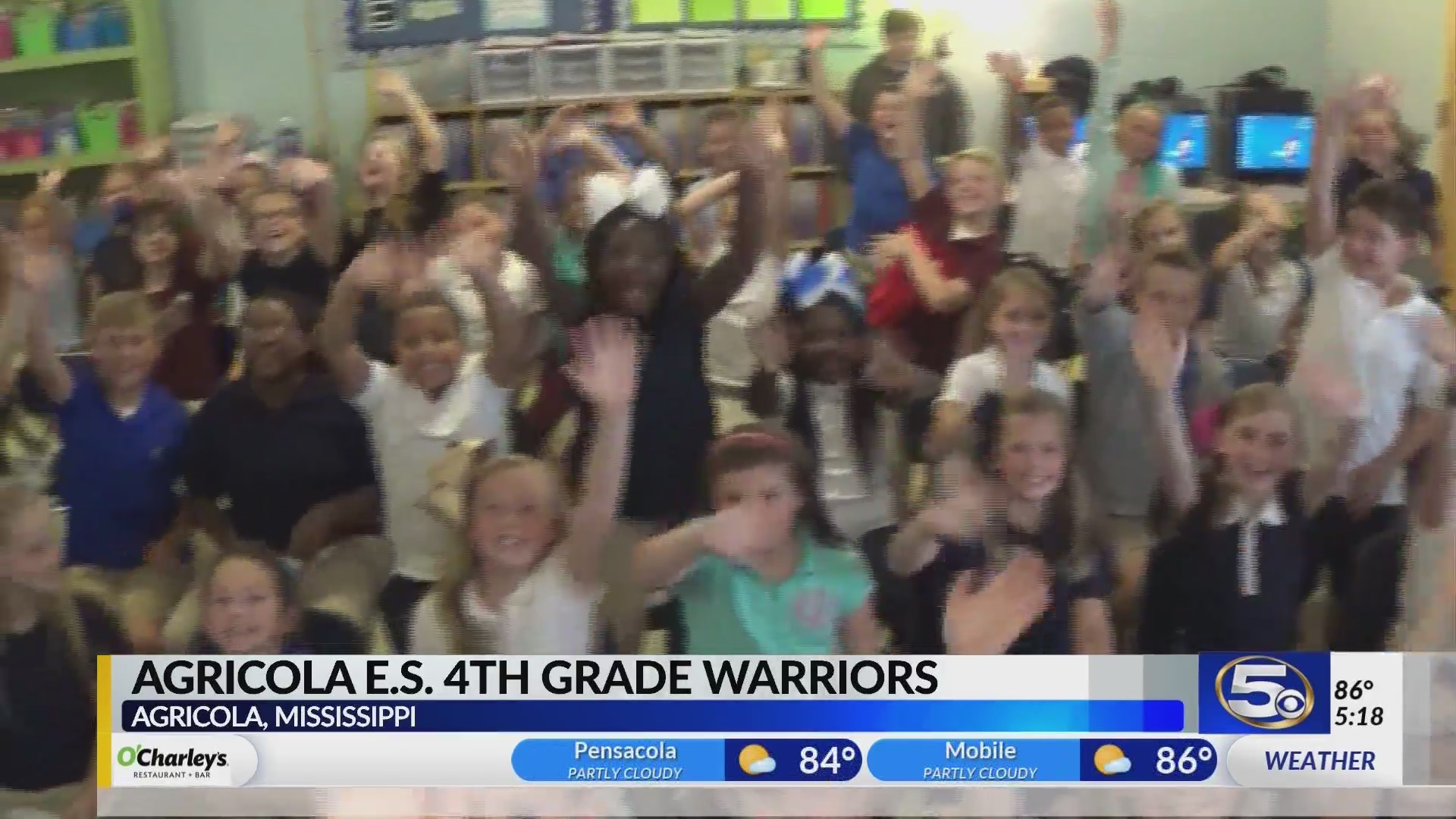 Agricola Elementary Fourth Grade with Alan Sealls