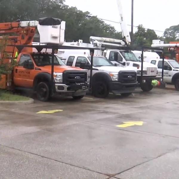 Emergency crews positioned in Santa Rosa County