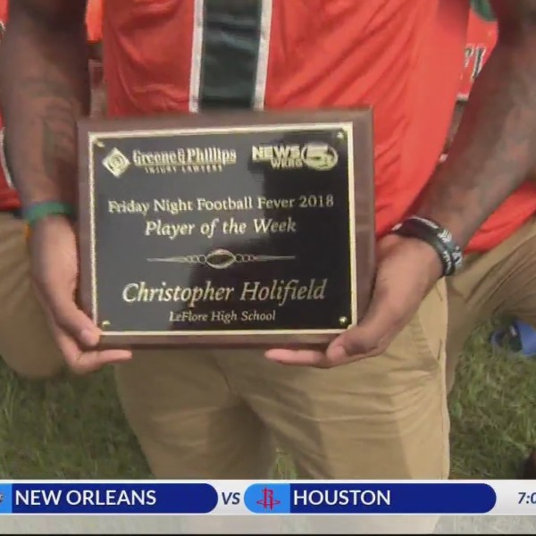 LeFlore Player of the week