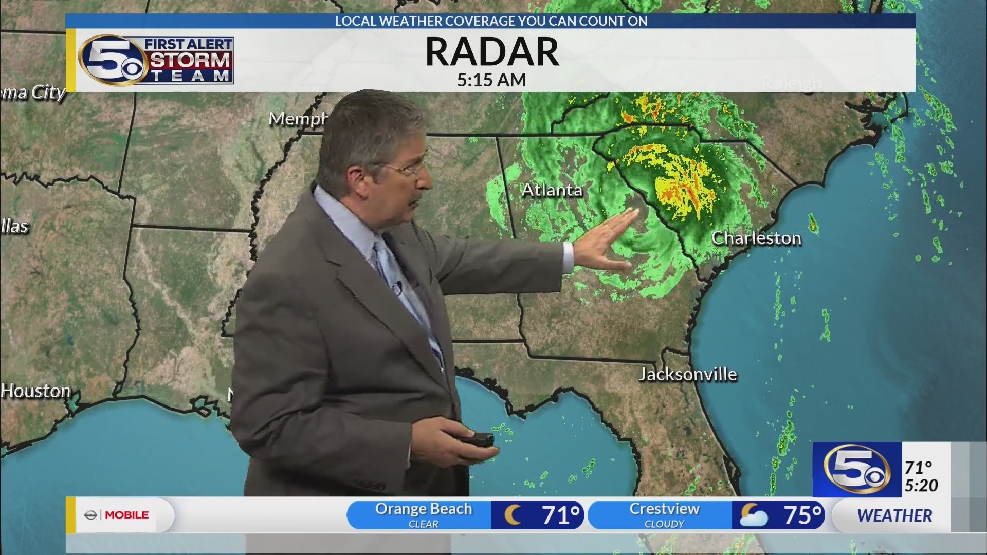 Michael Moves Out, Fall Weather Moves In