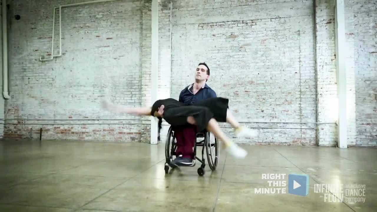 RTM News Pop: Beautiful Choreography in Red Bull Sponsored Video (wheelchair)
