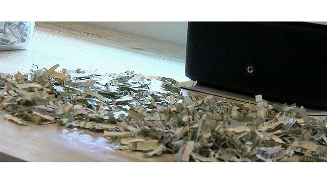 Toddler shreds $1,000 cash of parents' savings