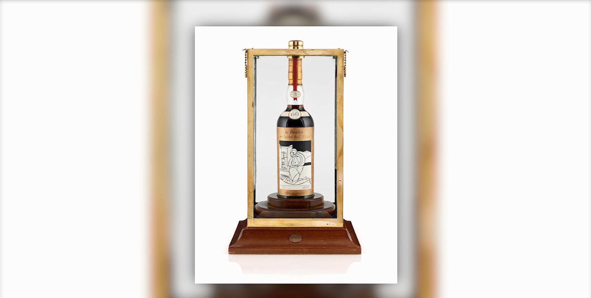 Bottle of whisky distilled in 1926 sells for more than $1 million